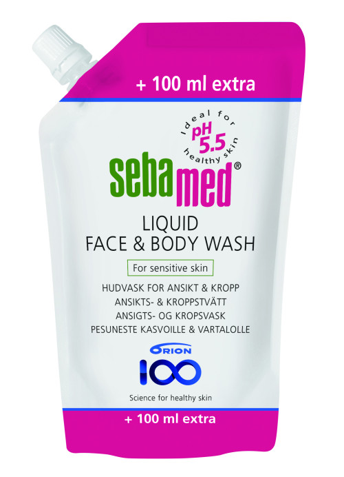 Sebamed face & body wash 1100ml täyttöpussi  17,22€ (20,26€)