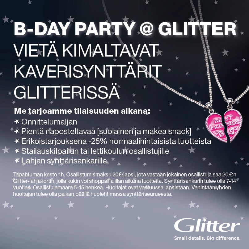 B-DAY PARTY @ GLITTER!